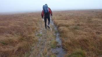 A Mountain Marathon on Dartmoor, 2010