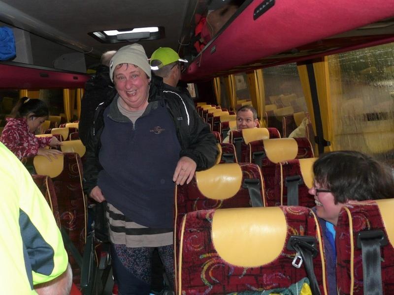 Welcome on board, team - transport secretary Karen