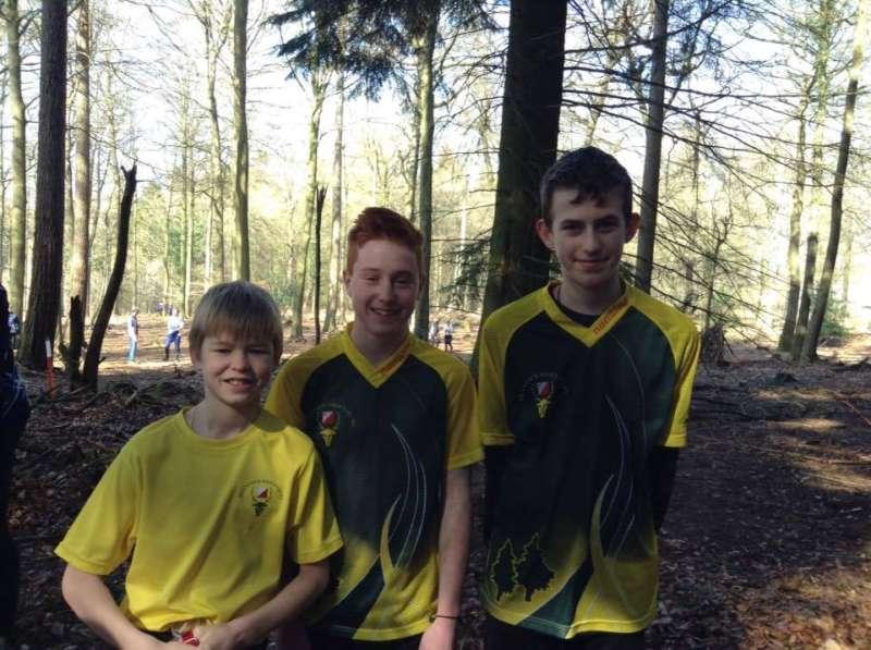 Andrew, Elliott & Tom at Cannop Ponds