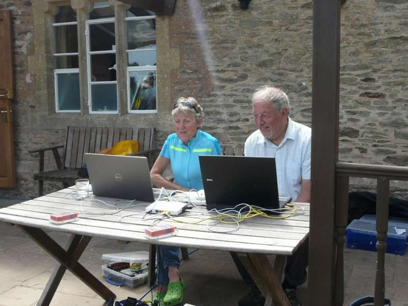Rosie & John can relax- it's Andy who'll be wrestling with a monster spreadsheet to calculate the team results!