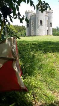 Nice spot for a kite, Blaise Castle
