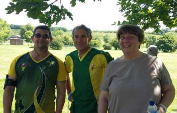 3rd placed QO Vadis- Martin, Jim and Karen