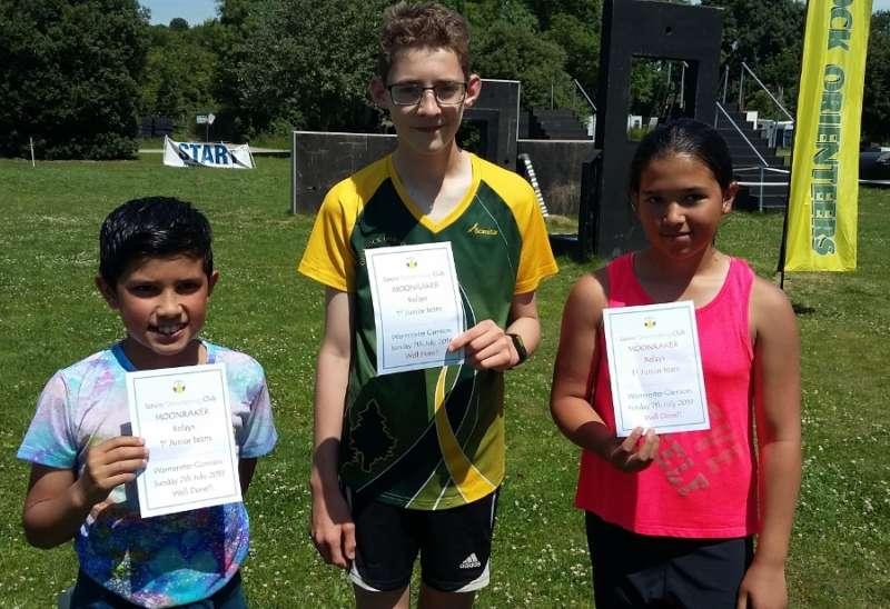 Our winning junior team