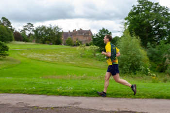 Phil on his QO relays debut, Knightshayes