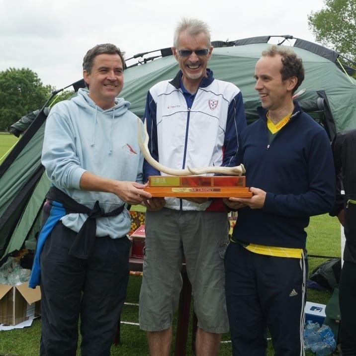 Winners of North Wilts' trophy, Lydiard Park, Swindon