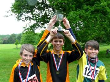 The winners- Intermediate relay, Blaise Castle, 20??