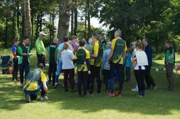 Briefing, NWO relay 2015