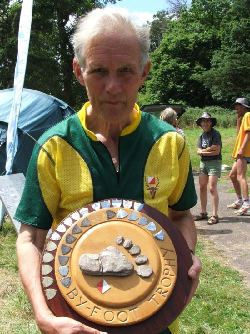 Mike C with Byfoot Trophy