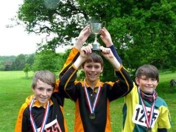Avon Schools relay team winners 2013